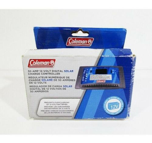 Coleman 30 Amp 12-Volt Digital Solar Charge Controller **Open Box**