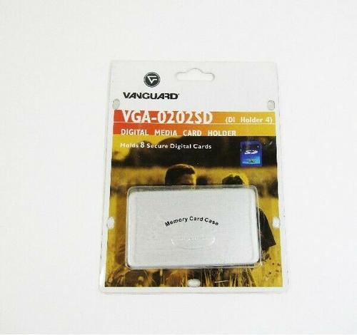 Vanguard VGA-0202SD Digital Media Card Holder, Holds 8 Cards **NEW IN PACKAGE**