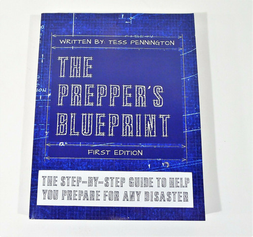 The Prepper's Blueprint The Step-By-Step Guide Paperback Book