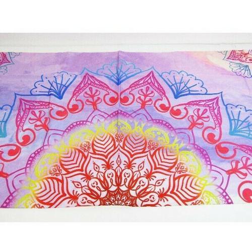 "Ambtek Multicolored Mandala Tapestry 60"" L x 50"" H **NEW IN PACKAGE**"
