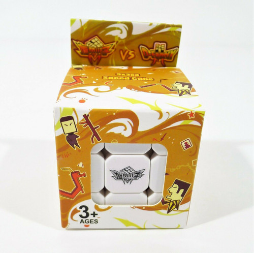 D-FantiX Cyclone Boys 3x3x3 Speed Cube Stickerless Magic Cube Puzzles Toys - NEW
