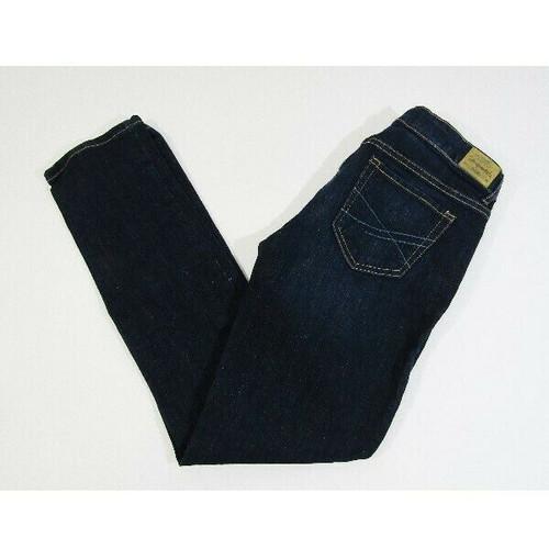 Aeropostale Women's Dark Wash Bayla Skinny Jeans Size 4 Short