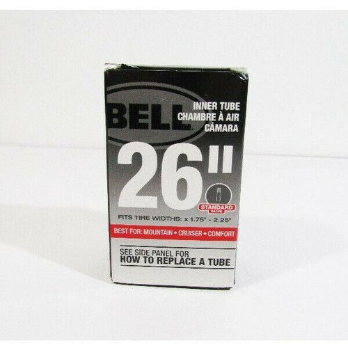 "Bell 26"" Inner Tube Fits Tire Widths x 1.75""-2.25"" **NEW, OPEN BOX**"