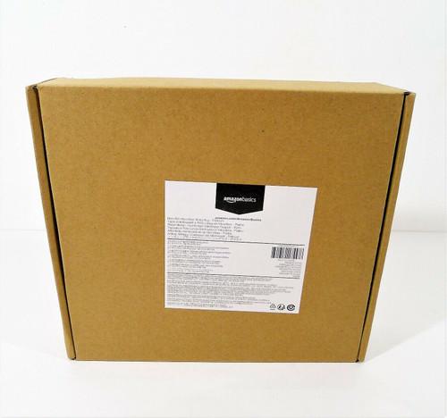 "Amazon Basics Platinum Non-Slip Microfiber Shag Bathroom Rug Mat 21"" x 34"" - NEW"