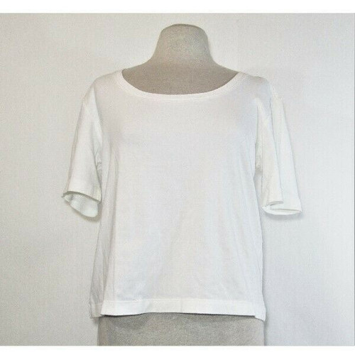 Chico's Women's White Limbo Elbow T-Shirt Size 3/XL **NEW WITH TAGS**