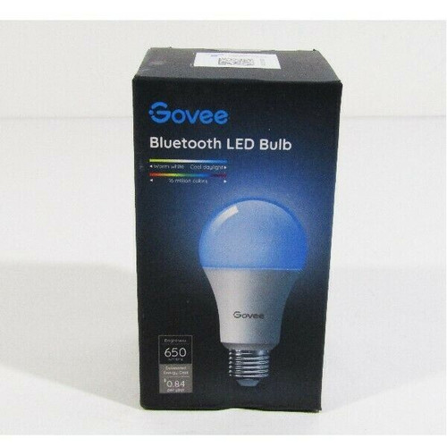 Govee Dimmable Bluetooth LED Light Bulb 650 Lumens 7 Watts **NEW IN BOX**