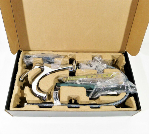 Kraus Arlo Single Handle Basin Bathroom Faucet In Chrome KBF-1201CH - OPEN BOX