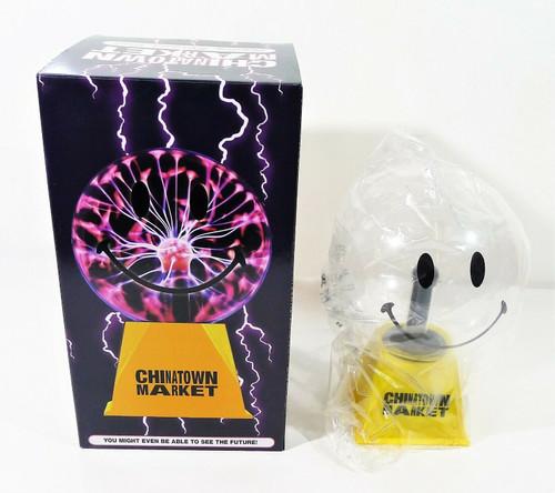 Chintatown Market Smiley Face Plasma Ball - OPEN BOX