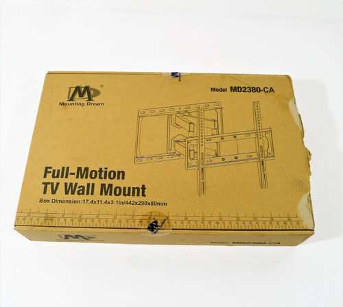 Mounting Dream Full Motion TV Wall Mount MD2380-CA - OPEN BOX