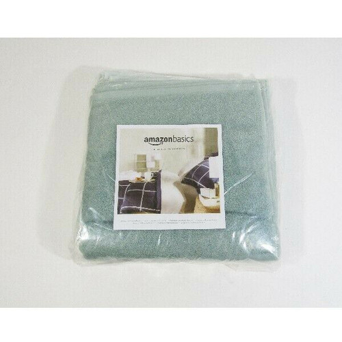 Amazon Basics Set of 24 Fast Drying Cotton Washcloths **NEW IN PACKAGE**