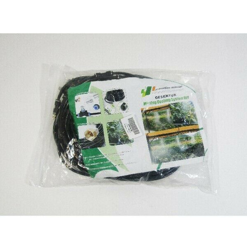 Gesentur Misting Cooling System for Outdoor Patio/Garden 15M **NEW IN PACKAGE**