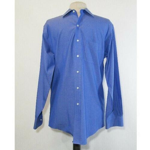 Brooks Brothers Men's Blue Regent Fit Button Down Dress Shirt Size 15 1/2 - 33