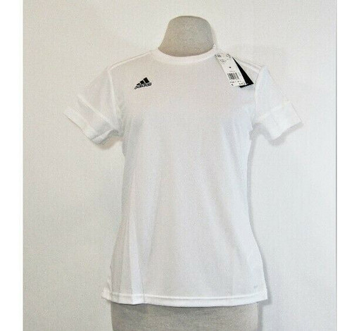 Adidas Climacool Women's White Short Sleeve Activewear Top Size M **NWT**
