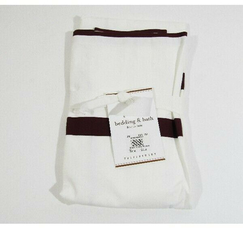 """Pottery Barn Morgan Euro Pillow Sham, SHAM ONLY 26"""" x 26"""" **NEW WITH TAGS**"""