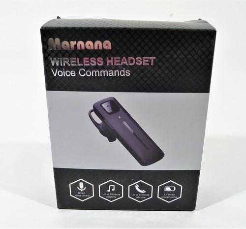 Marnana Wireless Headset Voice Commands Model Marnana Ai - OPEN BOX