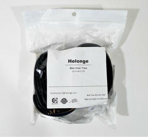 "2 Helonge Bike Inner Tubes 20"" x 1.90-2.125 Bicycle Tire Tubes - NEW"