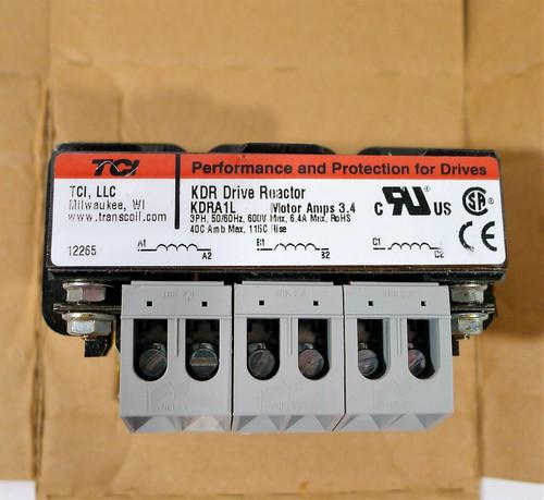 TCI KDRA1L KDR Drive Reactor 3ph 600v-ac - OPEN BOX