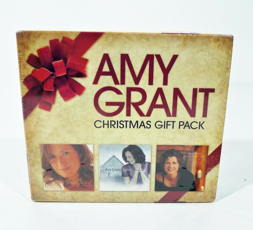Amy Grant Christmas Gift Pack CD's - NEW SEALED