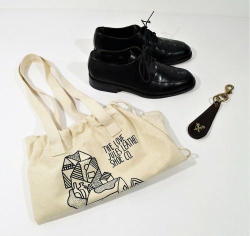 To Boot New York Adam Derrick Men's Black Leather Lace Oxford Dress Shoes Sz 8.5