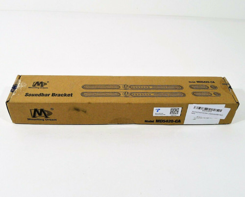 Mounting Dream Soundbar Bracket MD5420-CA - NEW IN BOX