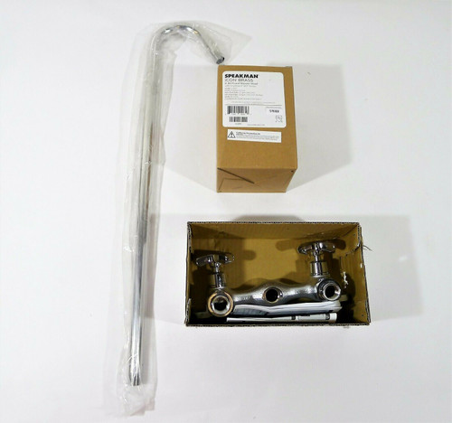 Speakman Commander Polished Chrome 2-Handle Shower Faucet - OPEN BOX