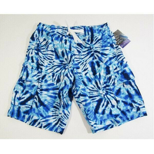 Kanu Surf Men's Blue Tie-Dye Lightweight Board Shorts Size L **NEW WITH TAGS**