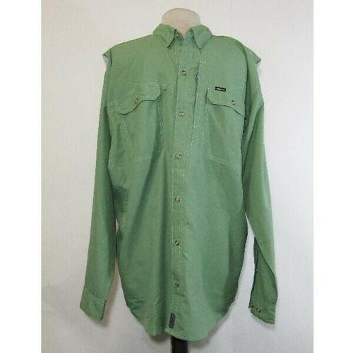 Patagonia Men's Green Lightweight Long Sleeve Outdoor/Fishing Shirt Size XL
