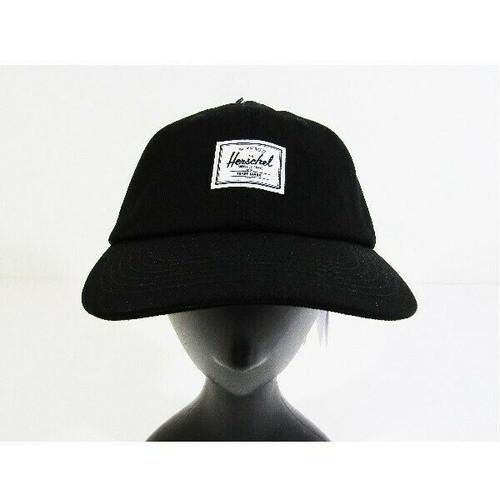 Herschel Supply Co. Unisex Sylas Black Denim Adjustable Cap **NEW WITH TAGS**