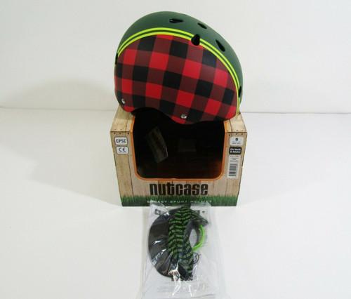 Nutcase Lumberiack Street Helmet w/ Detachable Visor Size S Fits Youth & Adults