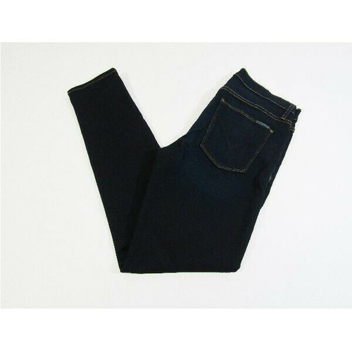 Hudson Women's Dark Wash Nico Midrise Ankle Super Skinny Jeans Size 28