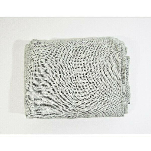 "CB2 DOS Dark Grey & Light Grey Curtain Panel, Panel Only 48"" x 120"""