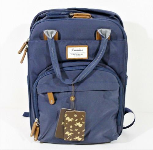Ruvalino Navy Blue Neutral Diaper Backpack YW168-N - NEW