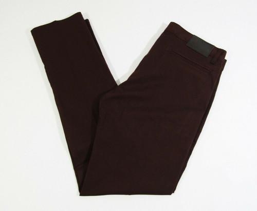 Naked & Famous Denim Men's Burgundy Stretch Chino Pants Size 33