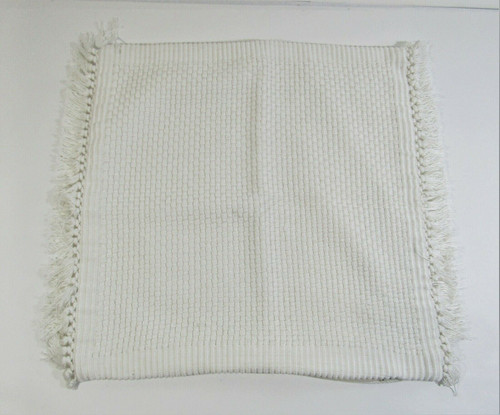 """CB2 23"""" Ivory Mane Pillow Cover, 1 Pillow Cover Only **Has thread pulls**"""