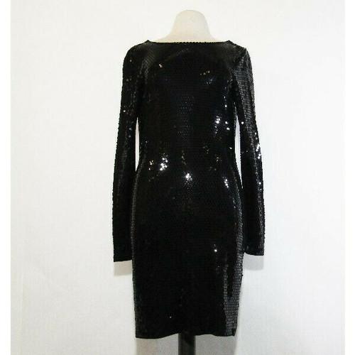 Michael Kors Women's Black Sequined Cocktail Dress Size Small **SEE DESCRIPTION