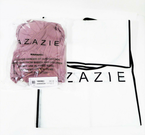Azazie Women's Vintage Mauve Adley Long Bridesmaid Dress Size A4 - NEW WITH TAGS