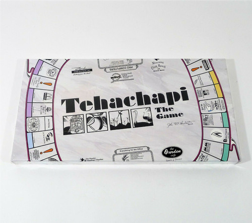 Tehach'opoly Tehachapi The Game - NEW SEALED **CREASED BOX