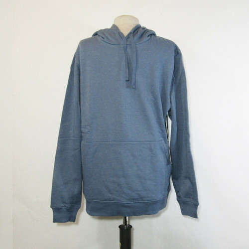 Richer Poorer Men's Blue Long Sleeve Pullover Hoodie Size Large **NEW WITH TAGS*