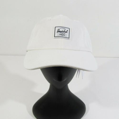 Herschel Supply Co. Unisex Sylas White Denim Adjustable Cap **NEW WITH TAGS**