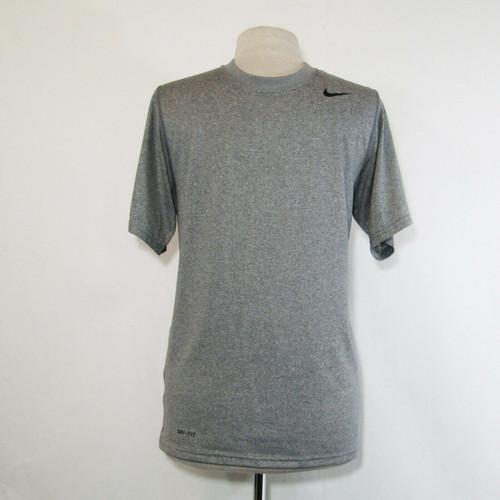 Nike Dri Fit Men's Gray Short Sleeve Athletic T-Shirt Size Small