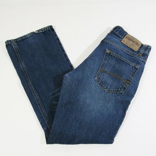 Aeropostale Women's Medium Wash Driggs Slim Bootcut Jeans Size 29 x 30