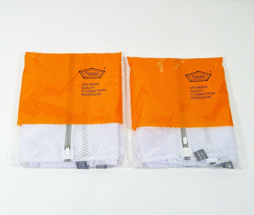 """Lot of 2 Kimmama Mesh Laundry Bags XXL (4 Bags Total) 23"""" x 23"""" - NEW"""