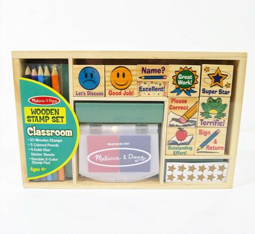 Melissa & Doug Classroom Stamp Set 2400 - NEW SEALED