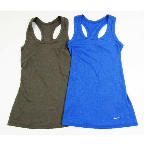 Nike Dri-Fit Women's 2 Pack Tight Fit Activewear Tank Tops Size XS