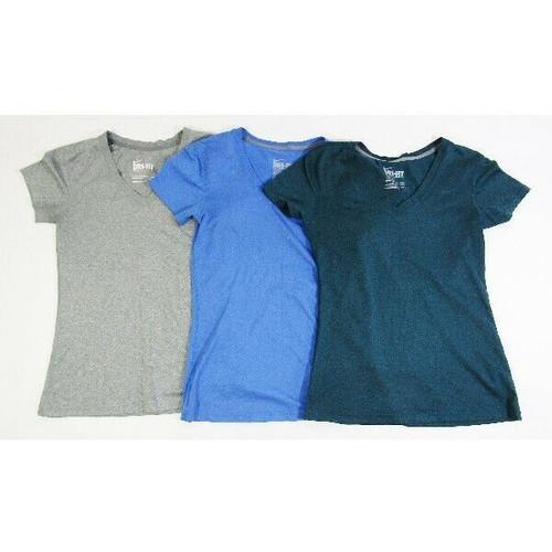 Nike Dri-Fit Women's 3 Pack Short Sleeve Regular Fit Activewear T-Shirts Size XS