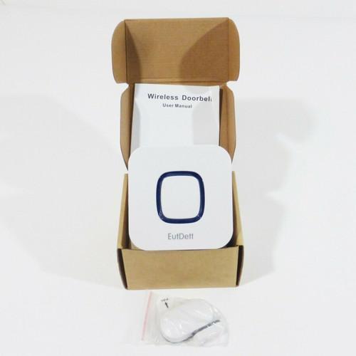 EutDett Wireless Chime Alarm Doorbell *NEW OPEN BOX*