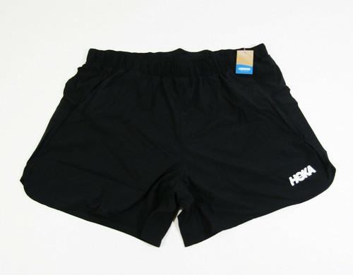 "Hoka Men's Black Performance Woven 5"" Shorts Size XL **NEW WITH TAGS**"