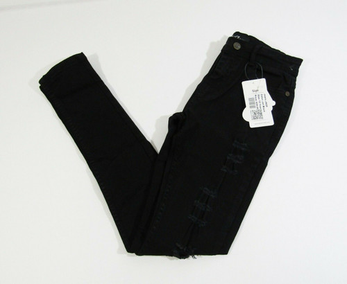 A2Z 4 Kids Girls Black Distressed Skinny Jeans Size 13 **NEW WITH TAGS**