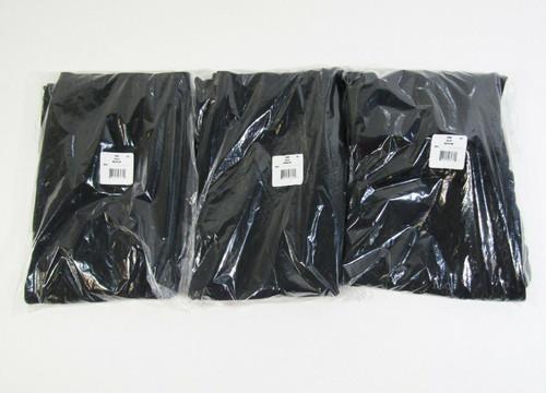 Hanes Ecosmart Men's 3 Pack Black Open Leg Sweatpants w/ Pockets Size M **NEW