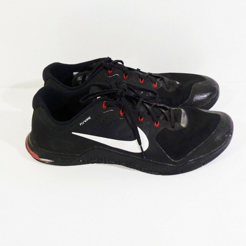 Nike iD Flywire Men's Red and Black Personalized Training Shoes Size 14